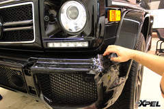 Mercedes Benz G63 wrapped with XPEL ULTIMATE