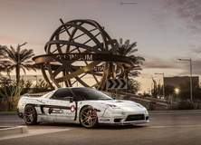 Jhae Pfenning's Acura NSX on Forgeline One Piece Forged Monoblock EX1 Wheels