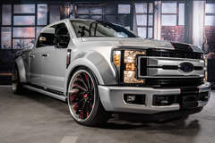 "2017 Ford F-250 Super Duty 4x2 XLT Crew Cab ""Widebody Design"" by TS Designs - Whipple Supercharged #FordSEMA"