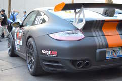 Danny King's 997 Porsche 911 Turbo S on Center Locking Forgeline One Piece Forged Monoblock GA1R Wheels