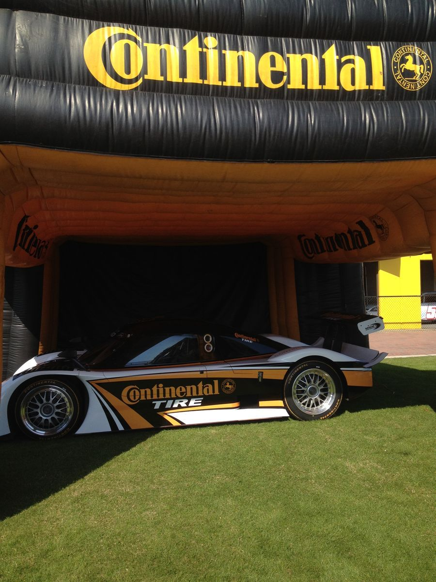   Did you stop by our tent and check out the Continental Tire car?