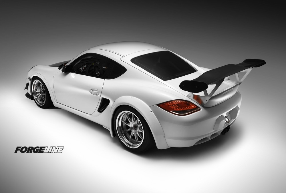 2012 Porsche Cayman | Porsche Cayman Track Car on Center Locking Forgeline GZ3R Wheels