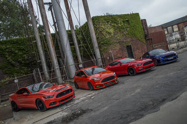 2015 Ford Mustang | Group Shot @ Detroit