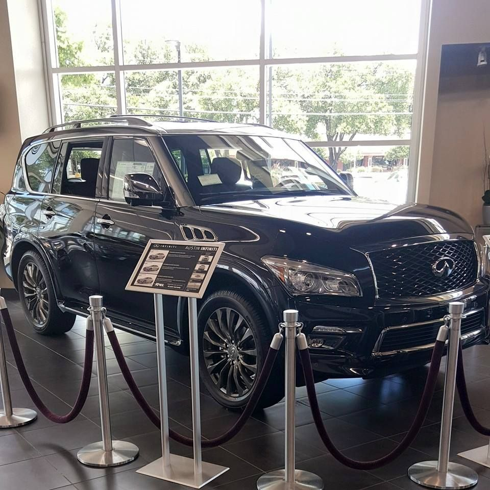 Infiniti QX | Infiniti QX80 at the Infiniti Austin Dealership with XPEL ULTIMATE installed on the front end