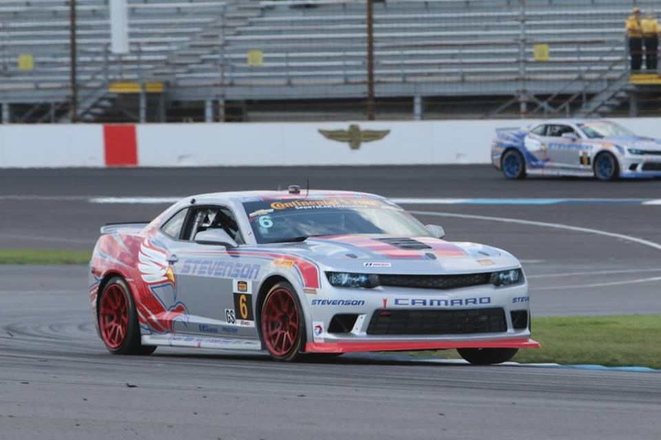 2014 Chevrolet Camaro | Stevenson Motorsports #6 Camaro Z/28.R Wins at The Brickyard on Forgeline One Piece Forged Monoblock Wheels