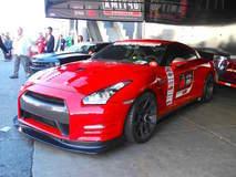 Nissan GT-R on Forgeline GA1R Open Lug Wheels