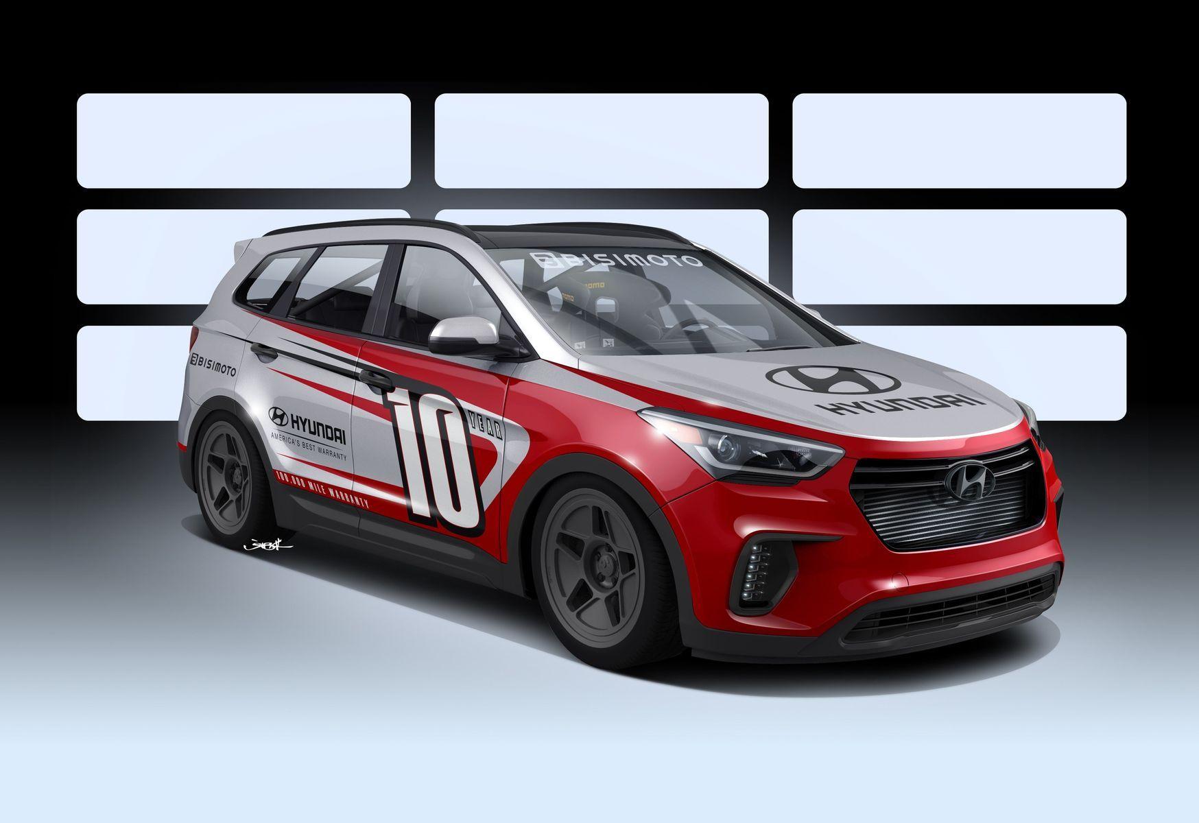 Hyundai Santa Fe | Hyundai SEMA Santa Fe