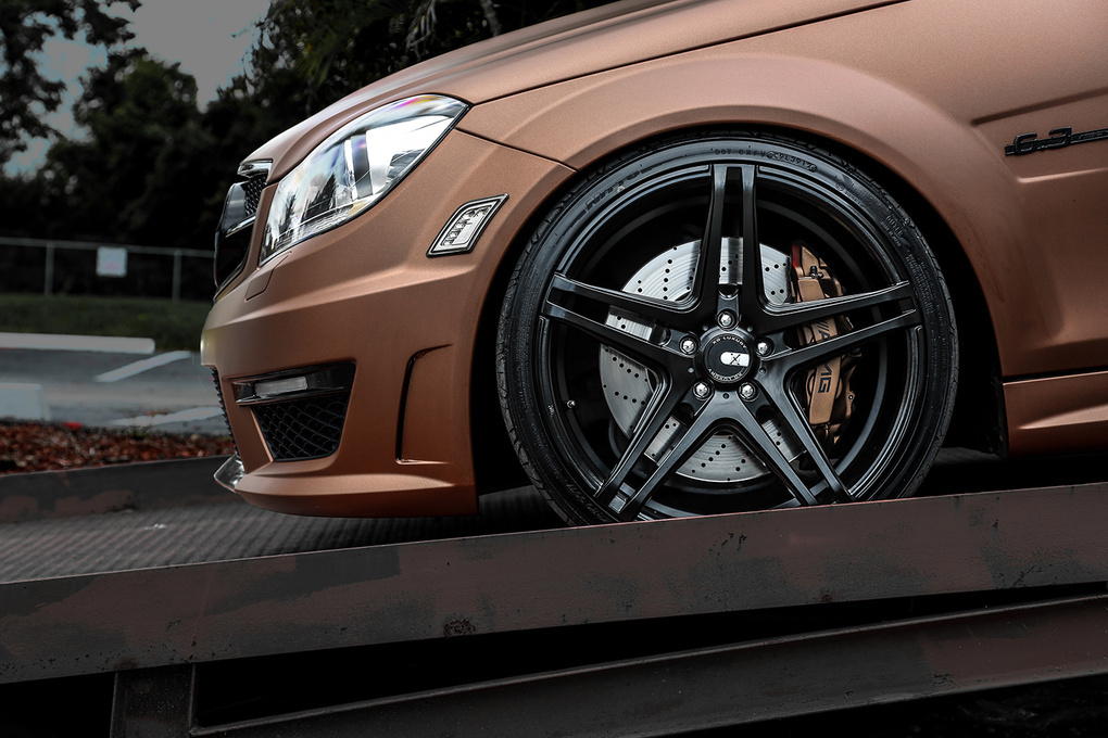 2012 Mercedes-Benz C-Class | '12 Mercedes-Benz C63 AMG on XO Caracas