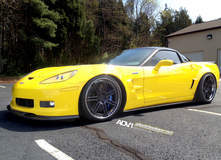 Corvette C6 Z06 on ADV07 Track Spec