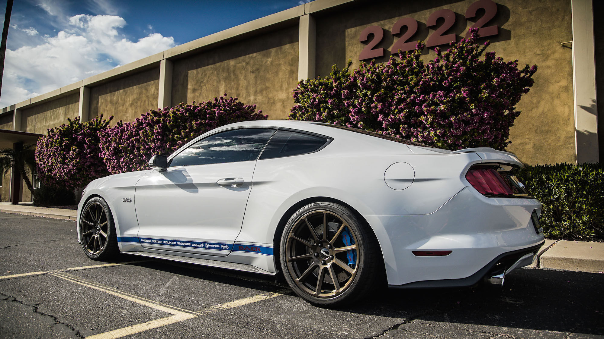 2015 Ford Mustang | Rick Elam's Supercharged S550 Mustang GT on Forgeline One Piece Forged Monoblock RB1 Wheels