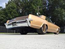 Bob's Mike Goldman Customs 1965 Buick Riviera Gran Sport on Grip Equipped Dropkick Wheels