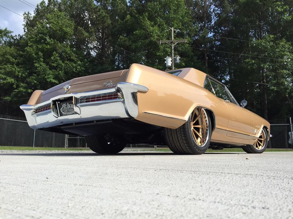 1965 Buick Riviera | Bob's Mike Goldman Customs 1965 Buick Riviera Gran Sport on Grip Equipped Dropkick Wheels