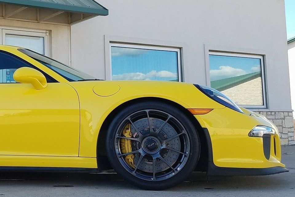 2016 Porsche 911 | Guillaumes' Racing Yellow 991 GT3 on Forgeline One Piece Forged Monoblock GS1R Wheels