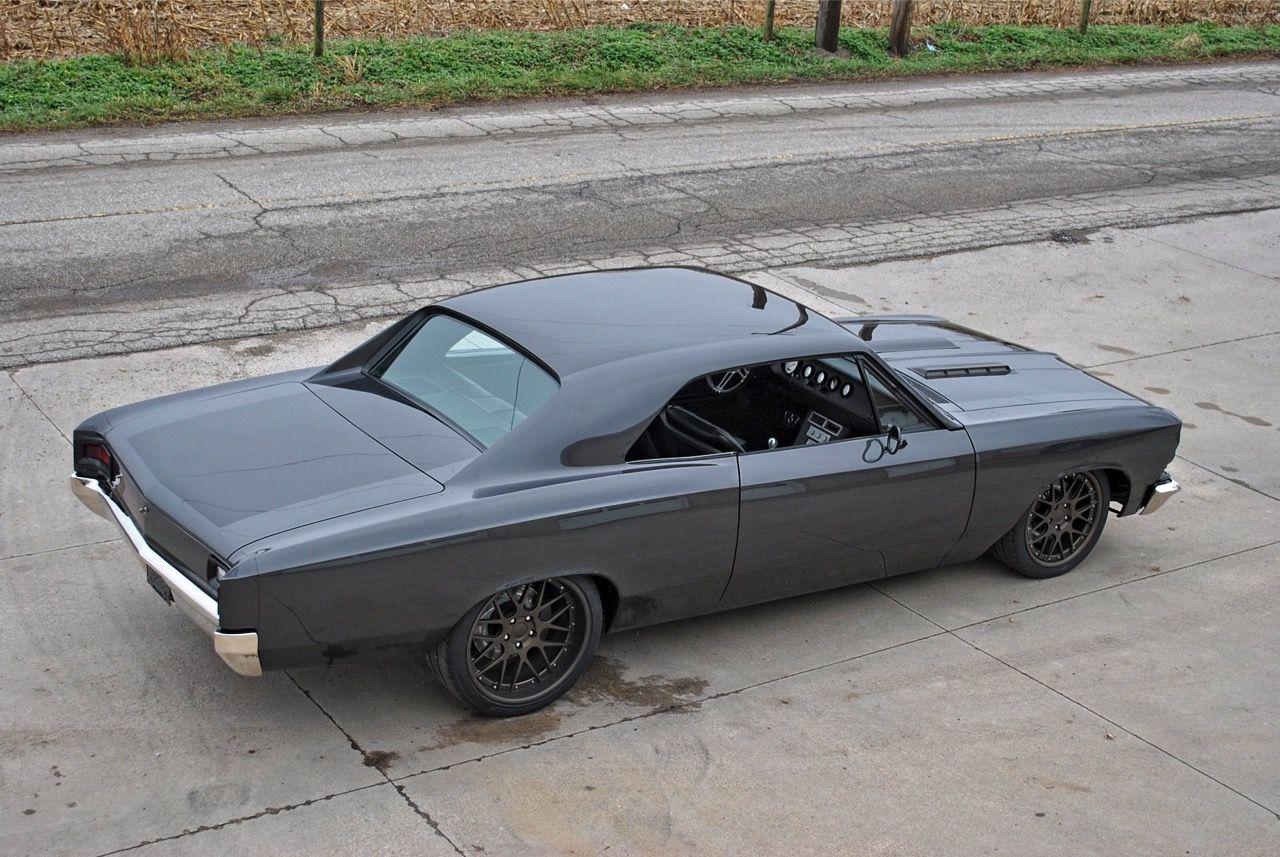1966 Chevrolet Chevelle | LaVine Restorations '66 Chevrolet Chevelle on Forgeline DE3C Wheels
