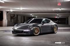 Matt's 991 Porsche C2S on Forgeline GW3R Wheels