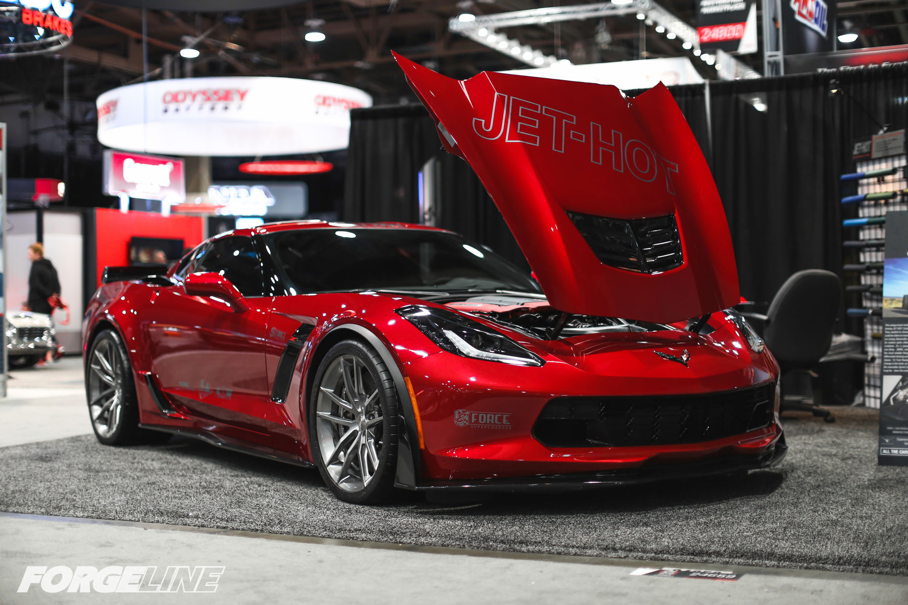 2015 Chevrolet Corvette | Total Lubricants C7 Corvette Z06 on Forgeline One Piece Forged Monoblock AR1 Wheels