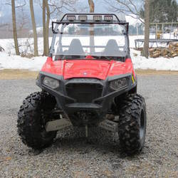 2014 Polaris  | EMP Cooter Brown Hard Coat Windshield