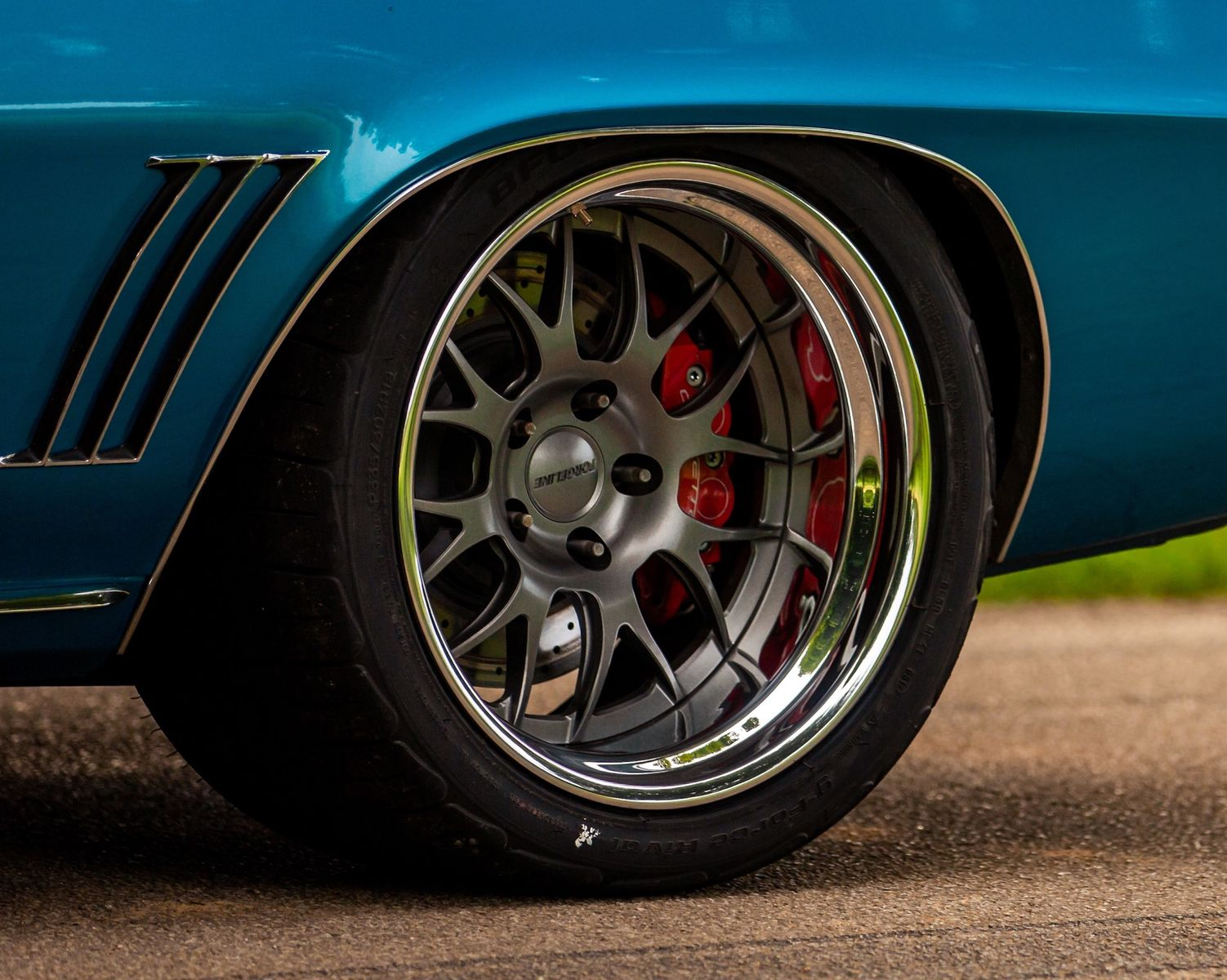 1969 Chevrolet Camaro | David Webb's Pro-Touring '69 Camaro on Forgeline GW3 Wheels