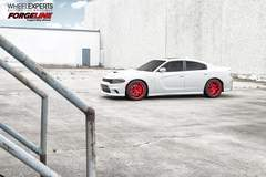 Bo's Dodge Charger Hellcat on Forgeline One Piece Forged Monoblock SE1 Wheels