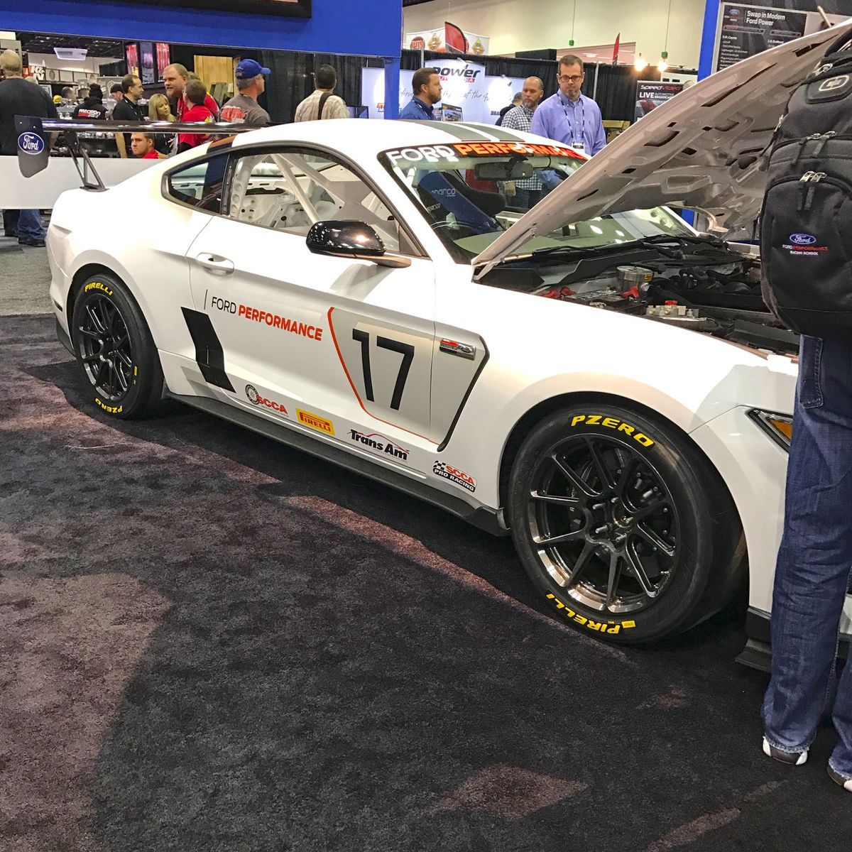 2017 Ford Mustang | Ford Performance Race-Ready Shelby FP350S Mustang on Forgeline One Piece Forged Monoblock GS1R Wheels