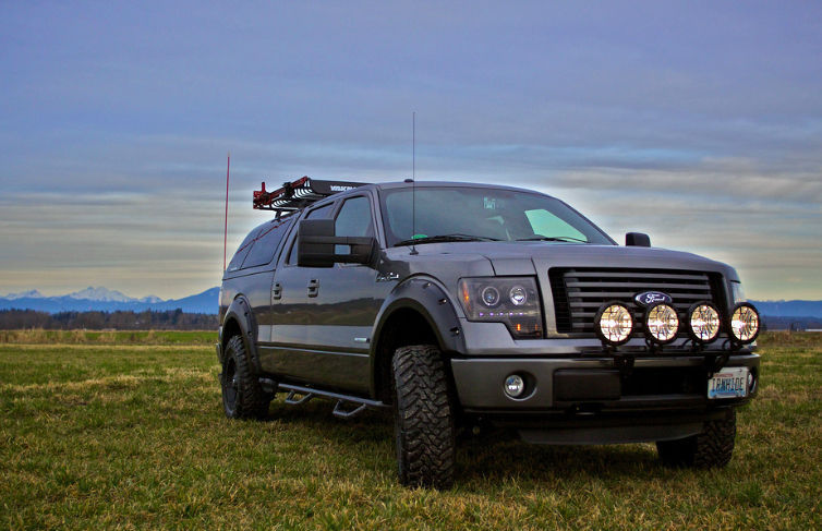 2010 Ford F150 Z Series Front Shot