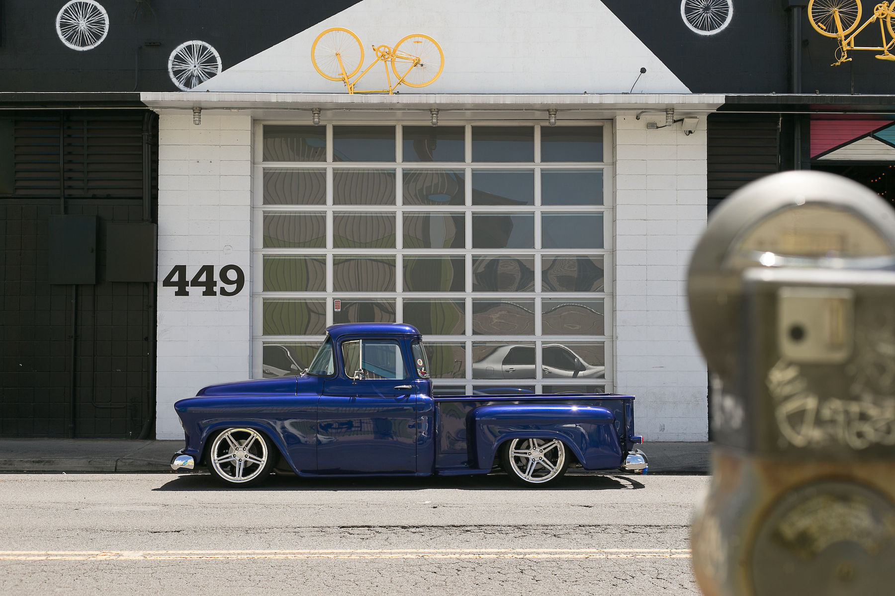 1957 Chevrolet C-10 | Esmond Takeshita's '57 Chevy C-10 Truck on Forgeline SC3C Concave Wheels