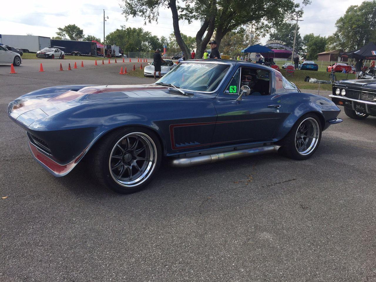 1966 Chevrolet Corvette Stingray | Jill Oberle's Corvette on Forgeling GZ3R Wheels