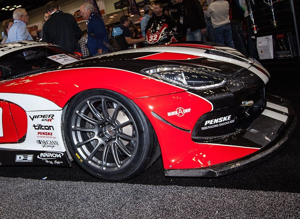 2015 Dodge Viper | McCann Racing's Dodge Viper G5R on Forgeline One Piece Forged Monoblock GTD1-Viper Wheels