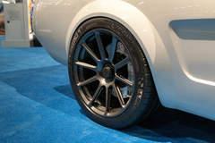 "Roadster Shop's 1965 ""Vapor"" Mustang on Forgeline One Piece Forged Monoblock RB1 Centerlock Wheels"