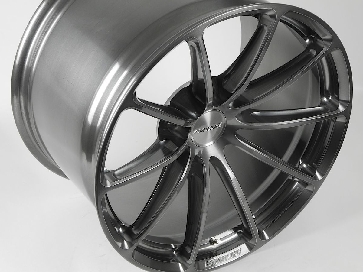 | Forgeline One Piece Forged Monoblock GT1 5-Lug in Transparent Smoke