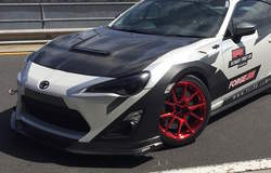 Harrop Engineering's Forgeline-equipped Toyota 86