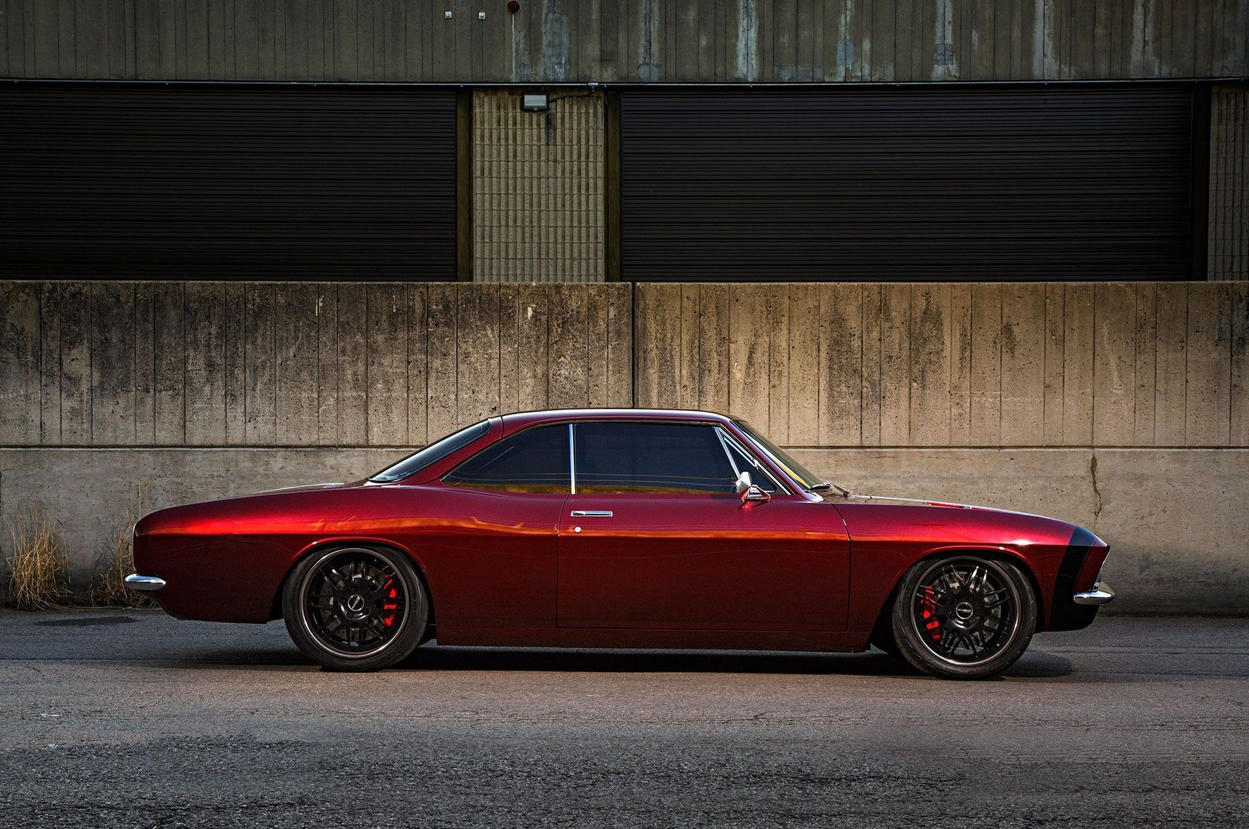 1966 Chevrolet Corvair | JB Granger's Pro-Touring '66 Chevy Corvair on Forgeline DE3P Wheels
