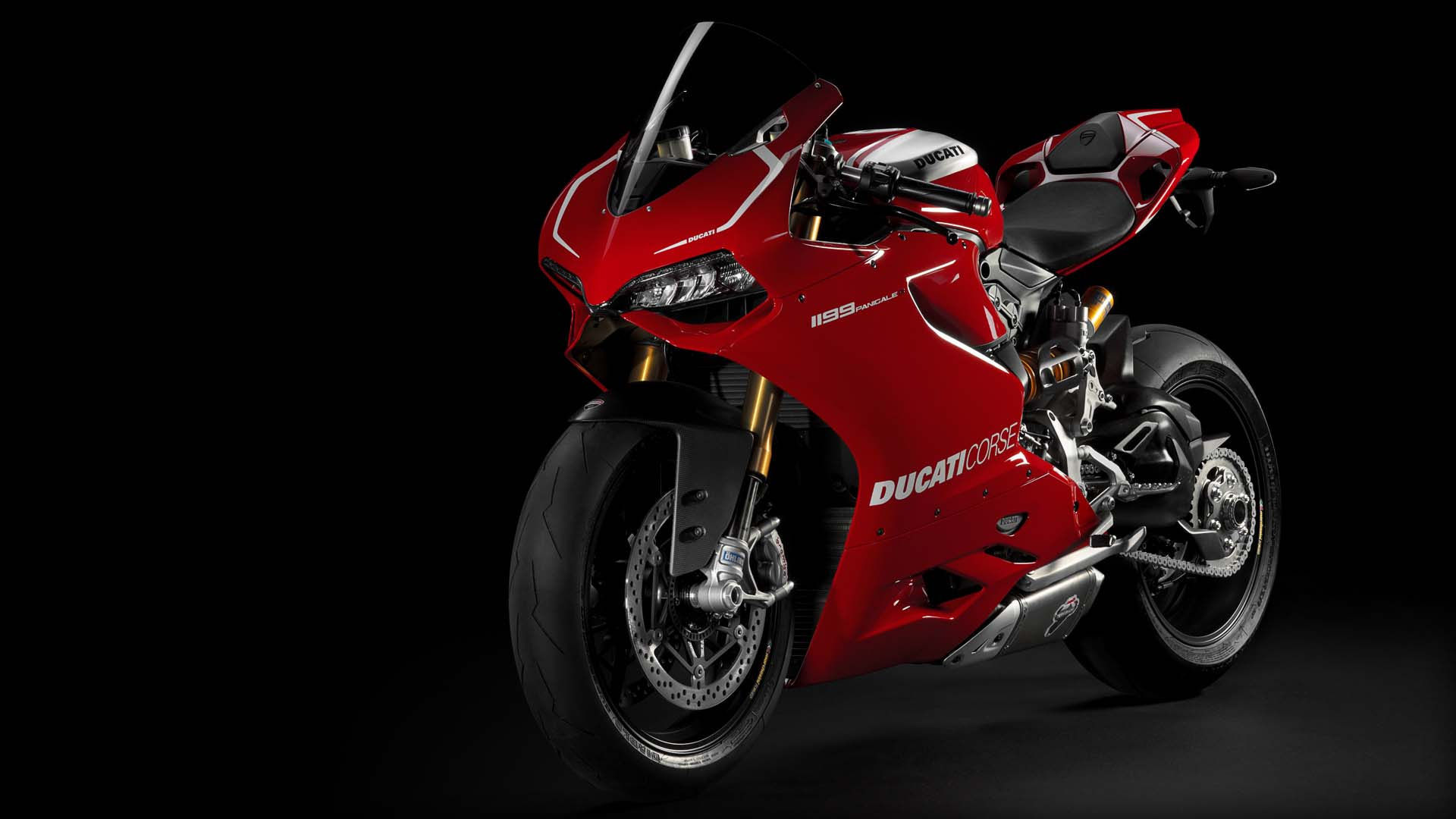 2014 Ducati  | Ducati 1199 Panigale R - Front Side Angle