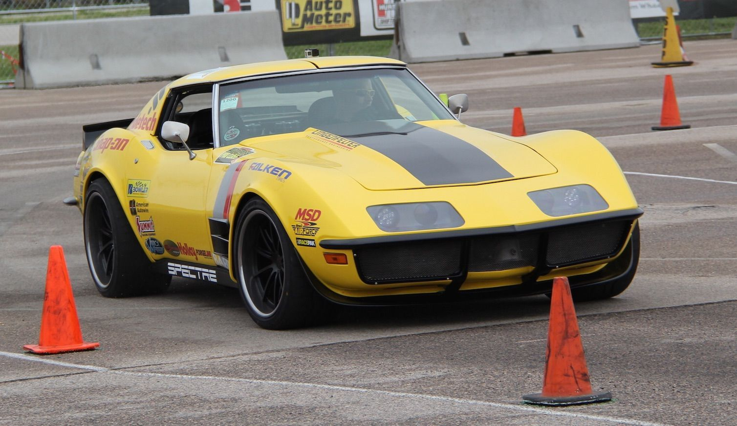1972 Chevrolet Corvette Stingray | 48 Hour Corvette at Goodguys Des Moines on Forgeline GT3C Wheels