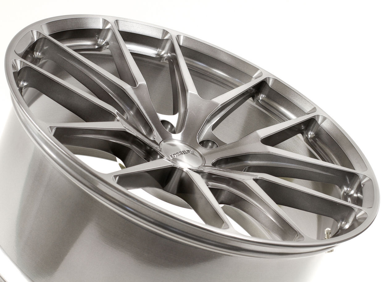 | Forgeline 6-Lug One Piece Forged Monoblock VX1-Truck Wheel in Transparent Smoke