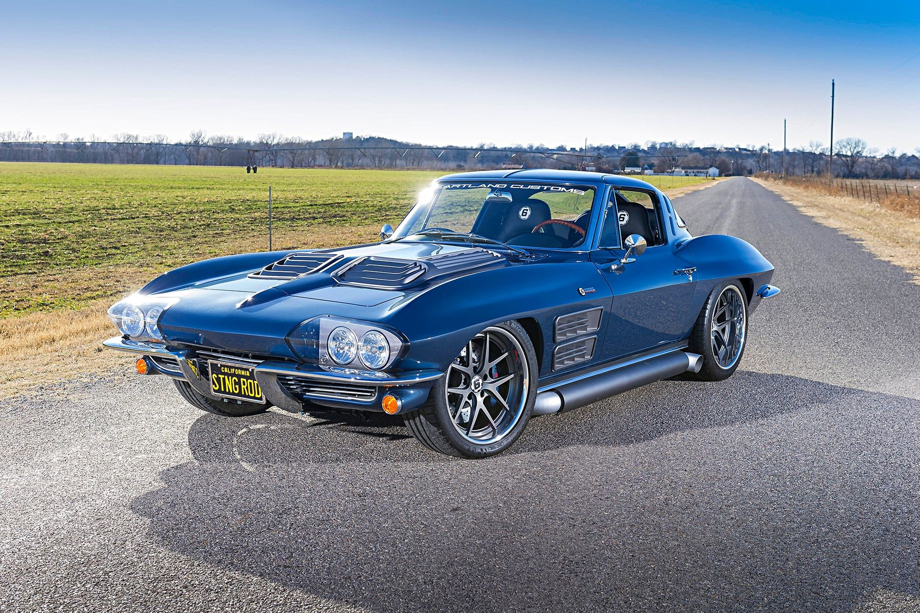 1963 Chevrolet Corvette Stingray | Heartland Customs' 1963 Corvette Stingray on Forgeline VX3C Wheels