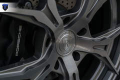 Charcoal Porsche 911 Carrera - Close-up Wheel Shot