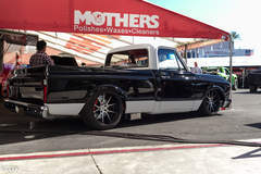 Mega Motorsports '70 Chevy C-10 Pickup on Forgeline GA3C Concave Wheels