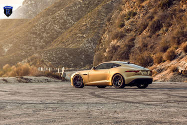 2016 Jaguar F-Type | Gold Jaguar F-Type - Side Shot