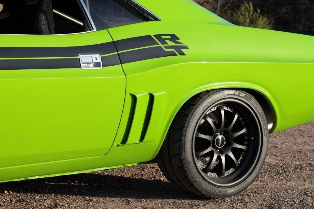 1971 Dodge Charger | Daniel Niklas' 1971 Dodge Challenger R/T on Forgeline ZX3R Wheels
