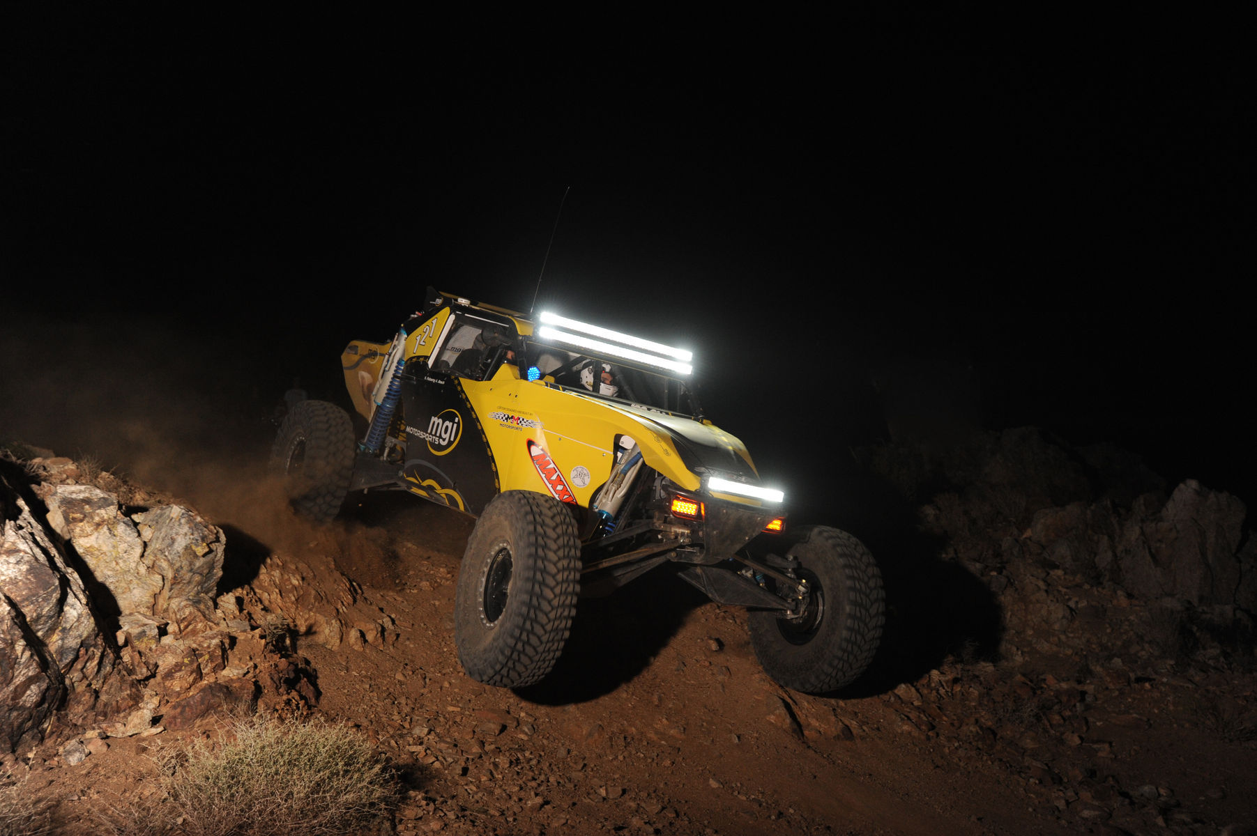 | Rigid Industries lights for maximum visibility!