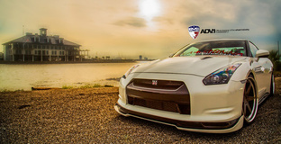 '13 Nissan GTR on ADV.1's
