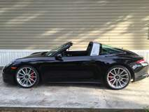 Jim Brown's Porsche 991 Targa on Forgeline One Piece Forged Monoblock GT1 Wheels