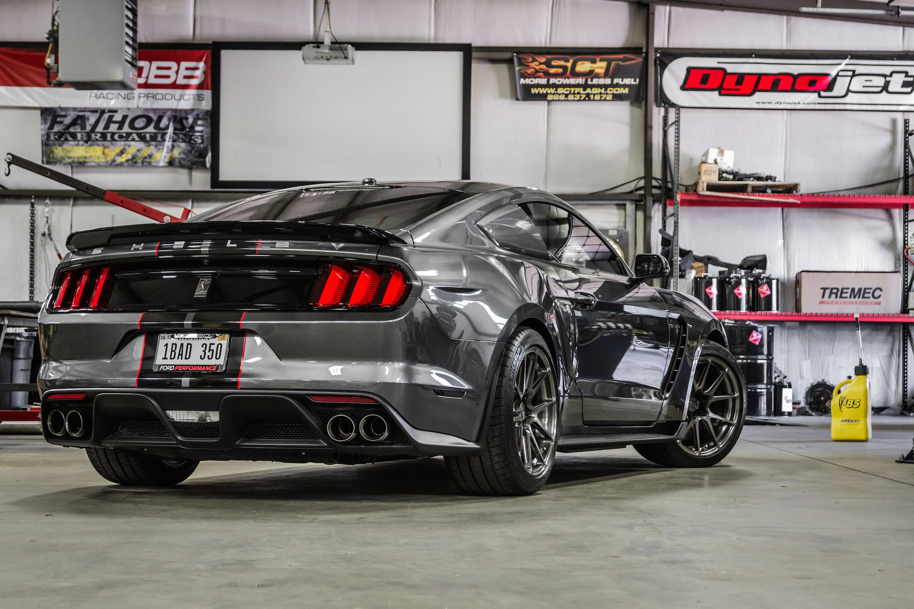 2016 Ford GT350   Tony Janko's 1056RWHP Mustang GT350 on Forgeline One Piece Forged Monoblock GA1R Open Lug Wheels