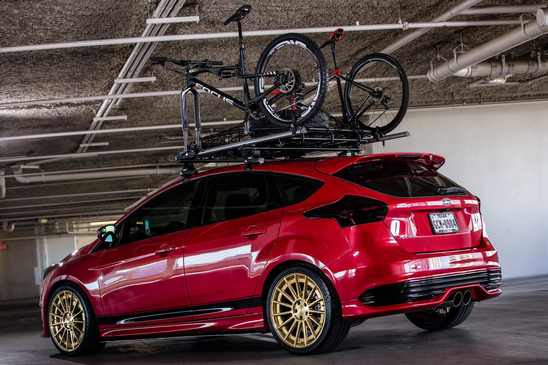 2015 Ford Focus ST | 2015 COBB Tuning Ford Focus ST - Bikes Loaded Up