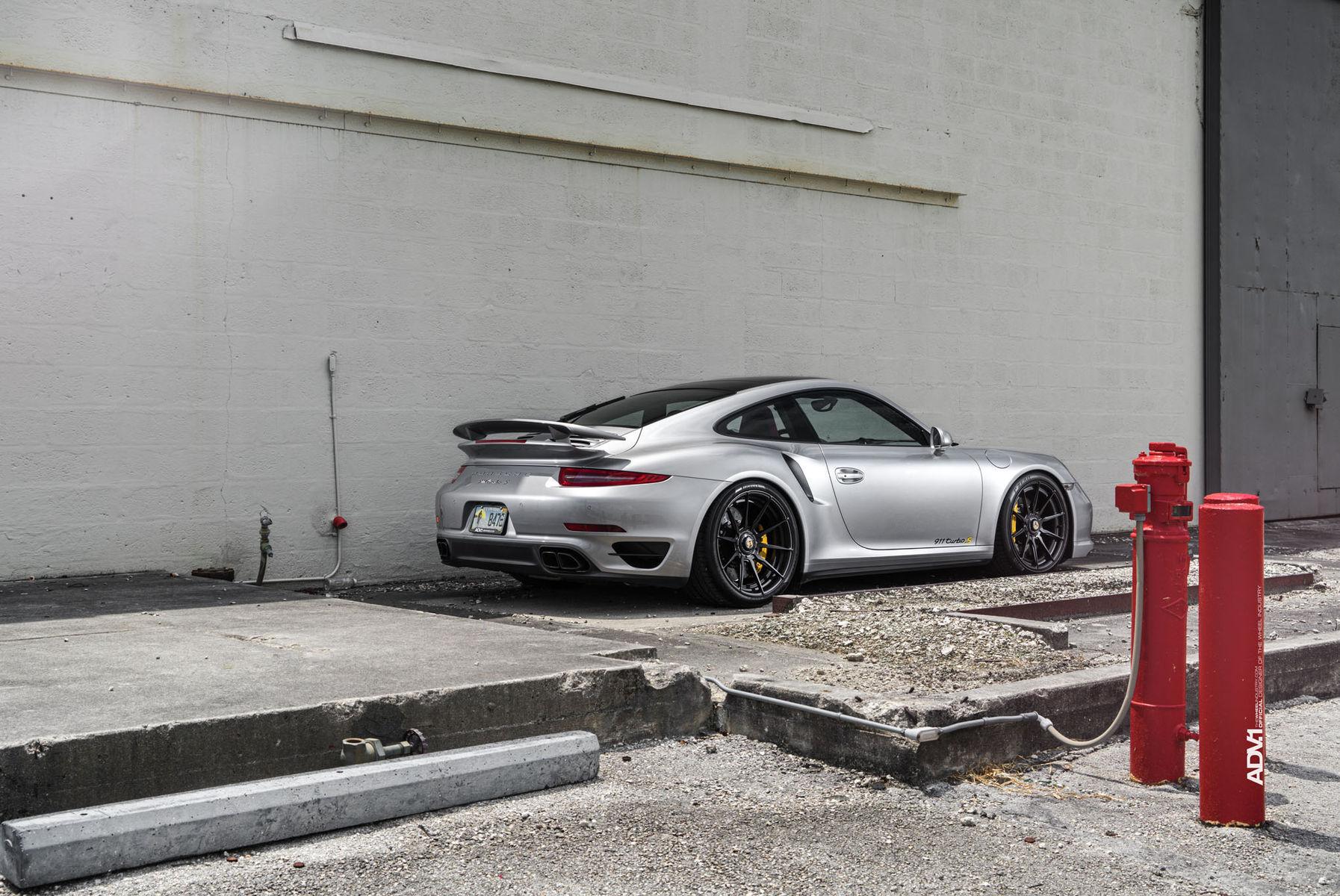 Porsche 911   ADV.1 Wheels Porsche 911 Turbo S