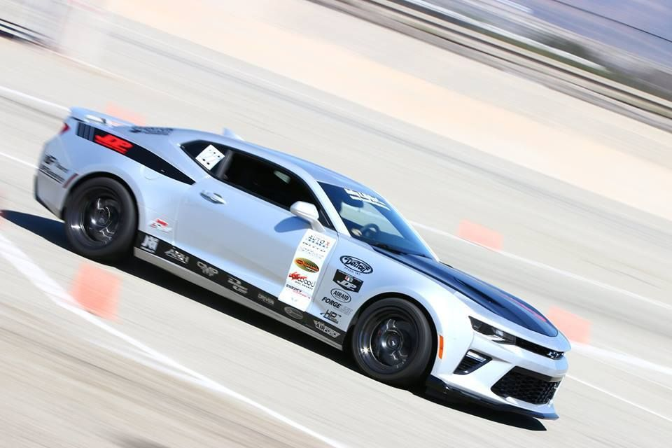 2017 Chevrolet Camaro | Jordan Priestley Wins Modern Muscle Class at NMCA West Autocross in the JDP Motorsports 6th Gen Camaro on Forgeline One Piece Forged Monoblock GA1R Wheels