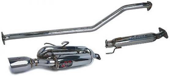 DC Twin Canister Cat-Back Exhaust