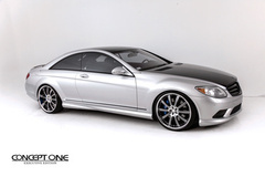 2010 Mercedes-Benz CL550 on Concept One RS-10's