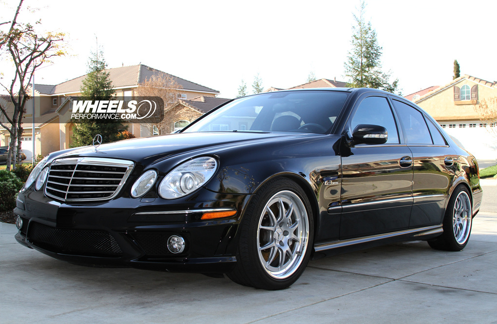 2008 Mercedes-Benz E63 AMG | Mercedes E63 AMG on Forgeline GA3 Wheels